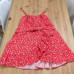 SHEIN Red Summer Dress